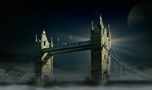 倫敦, 倫敦大橋, 地標, 塔樓 的 免費圖庫相片