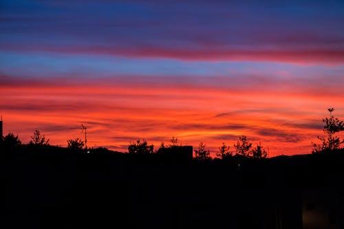 日落, 日落的顏色, 日落美景, 美麗的夕陽 的 免費圖庫相片
