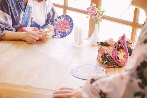 Foto stok gratis cinta, Jepang, kimono, musim panas