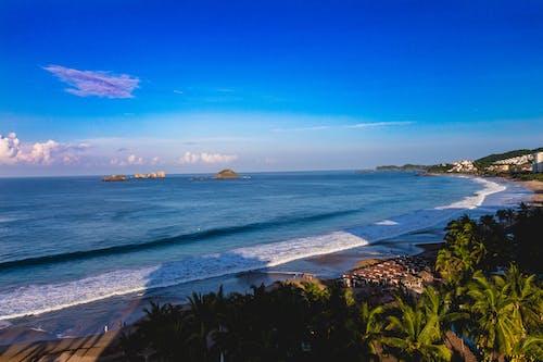 墨西哥, 太平洋, 太平洋海灘, 景觀 的 免費圖庫相片