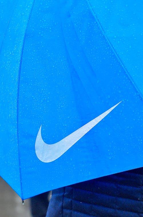 Kostenloses Stock Foto zu blau, logo, marke, nike