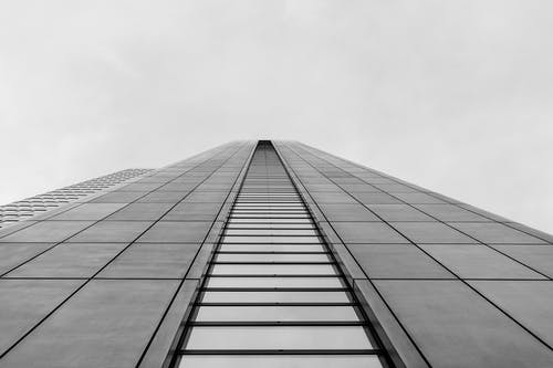 Free stock photo of abstract, architectural building, architecture, black and white