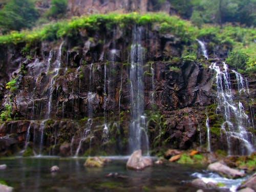 Бесплатное стоковое фото с вода, водопад, движение, дикий