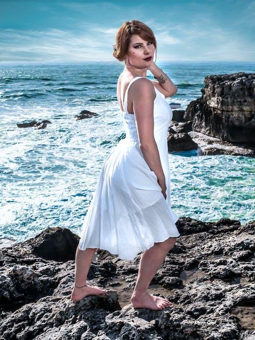 Free stock photo of Adobe Photoshop, beautiful, beyaz, model
