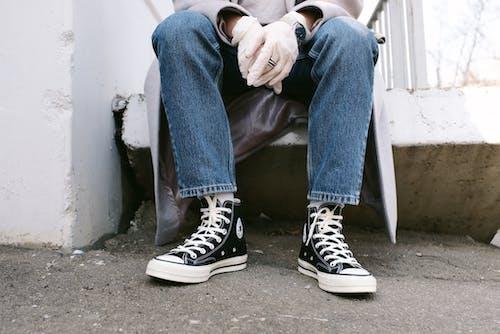 Photos gratuites de baskets, chaussures, converse