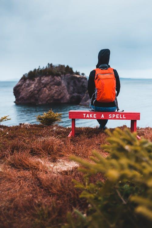 Kostnadsfri bild av äventyr, bänk, beundra