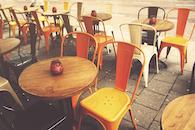 restaurant, street, bar