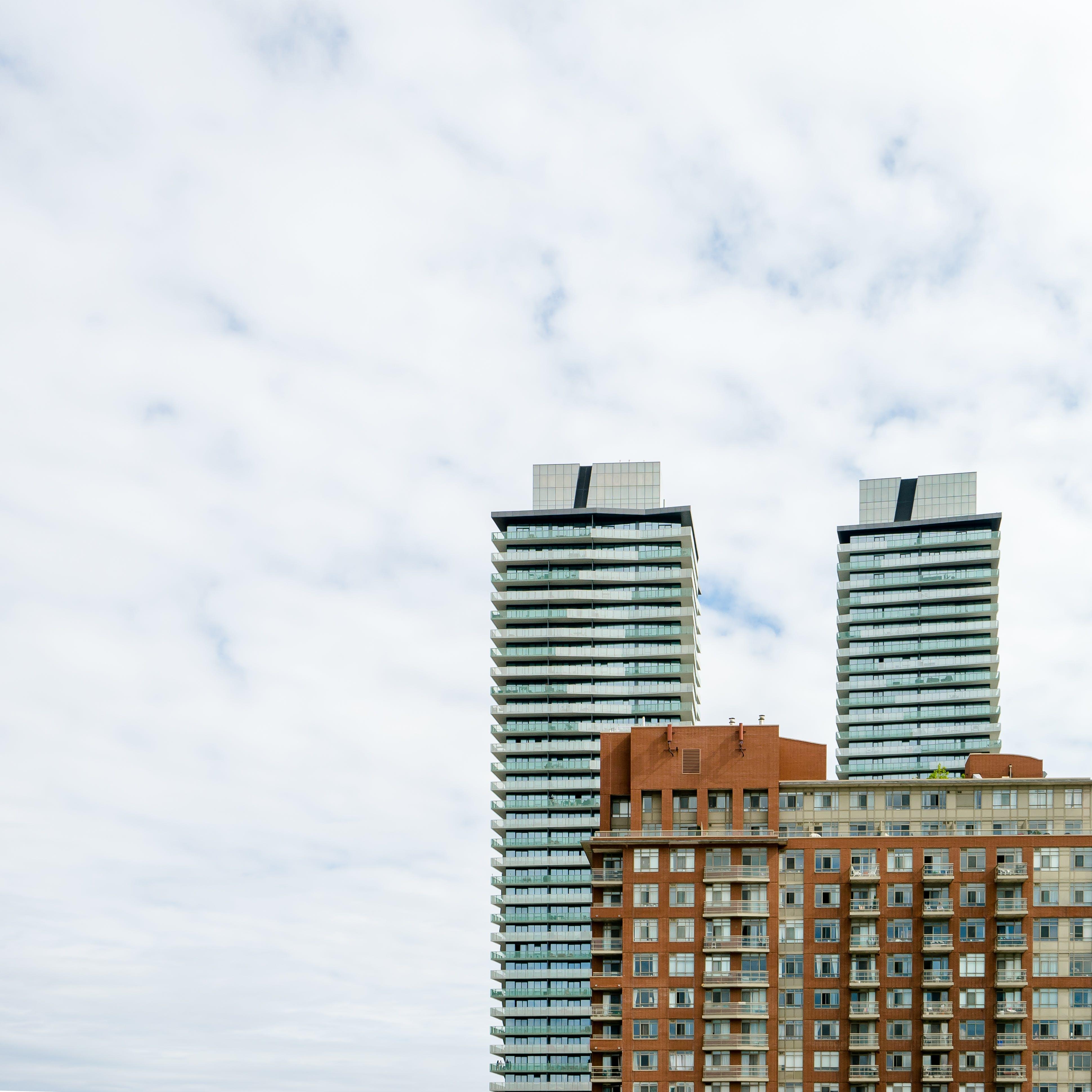 apartment building, buildings, city