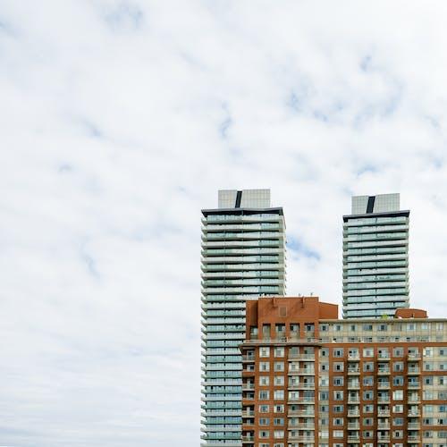 Beige Concrete Multi-storey Building