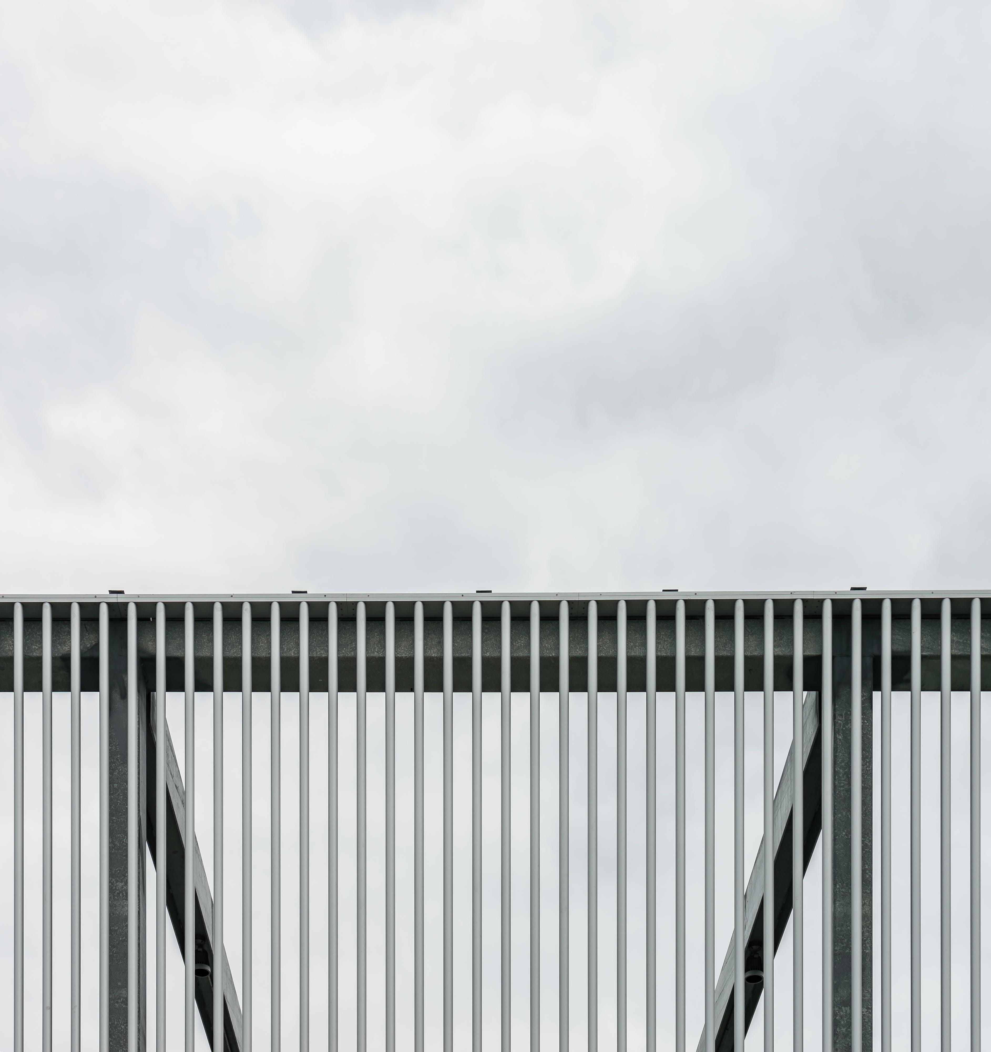 exterior, fence, iron