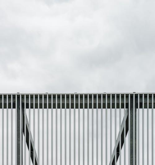 Imagine de stoc gratuită din exterior, fier, gard, model