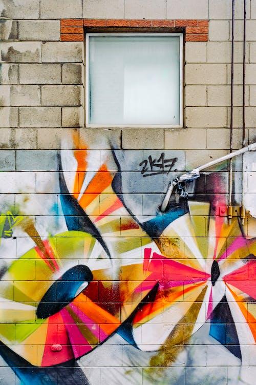 Kostnadsfri bild av färger, graffiti, konst, konstnärlig