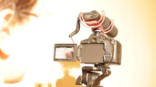 Immagine gratuita di canon, film, fotocamera, produzione