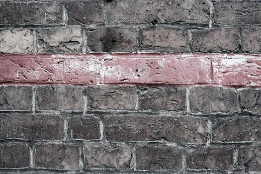 Free stock photo of red, bricks, texture, wall