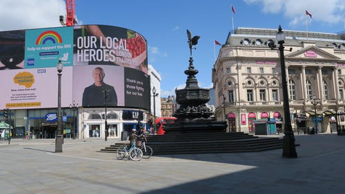 Free stock photo of advertisements, billboard, eros, piccadilly circus