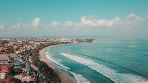 Foto profissional grátis de aerofotografia, água, ao ar livre, baía