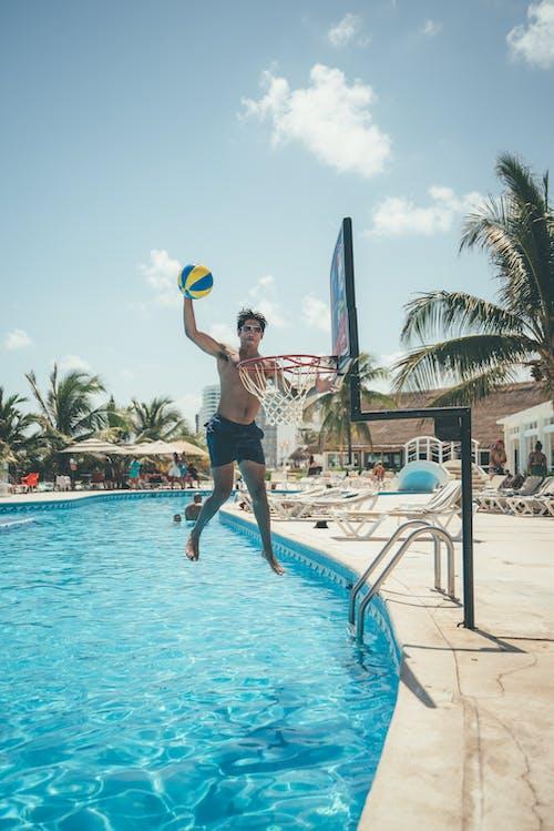 Ảnh lưu trữ miễn phí về biển, bờ biển, bơi lội, bóng rổ