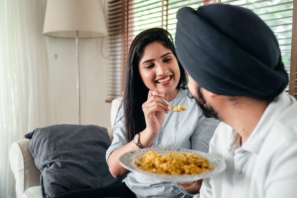Mindful Indian food @pexels.com