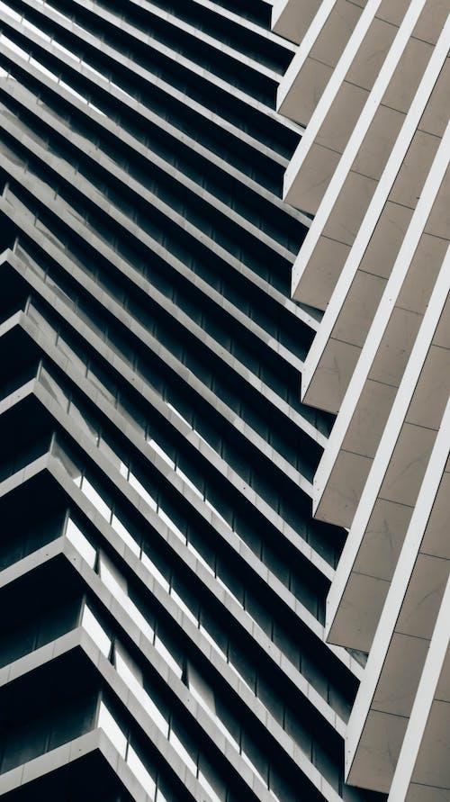 Ingyenes stockfotó ablak, acél, architet, birtok témában