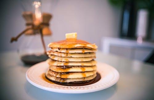 Fotos de stock gratuitas de café, cafetería, crepe, desayuno