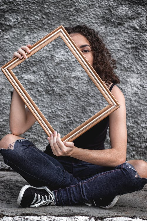 Free stock photo of beautiful girl, beautiful woman, frame