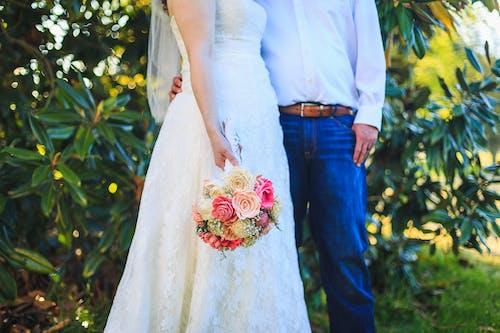 Photos gratuites de amour, couple, de la mariée, espace extérieur
