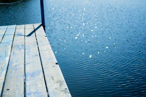 คลังภาพถ่ายฟรี ของ การสะท้อน, ชายหาด, ทะเล, ท่าเรือ