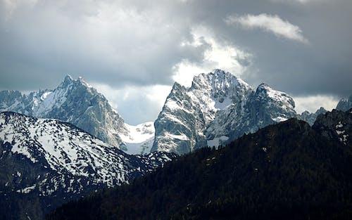 Free stock photo of Alpen, Berge, dunkle wolken, felsen