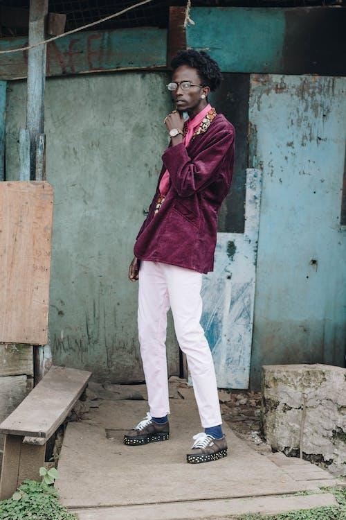 アダルト, アフリカ, アフリカ人, アフリカ服の無料の写真素材