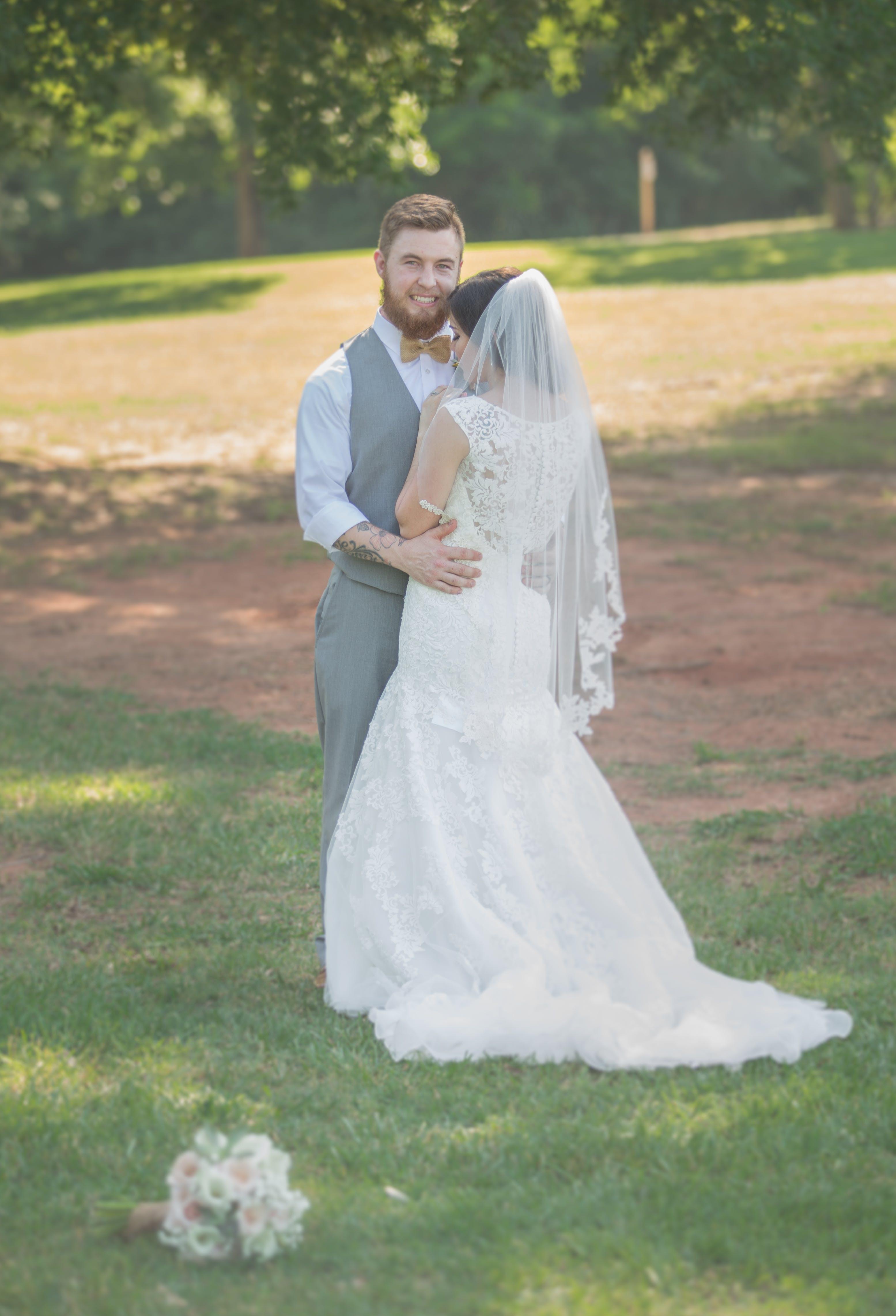 Free stock photo of bride, groom, outdoorwedding, wedding