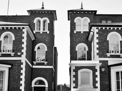 Ingyenes stockfotó ablakok, egyszínű, építészet, épület témában