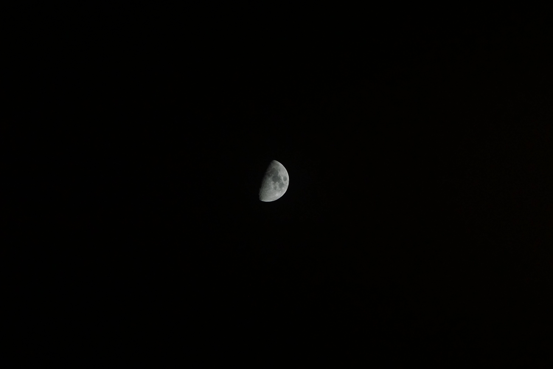 คลังภาพถ่ายฟรี ของ จันทรา, ท้องฟ้ากลางคืน, แสงจันทร์, ไฟกลางคืน