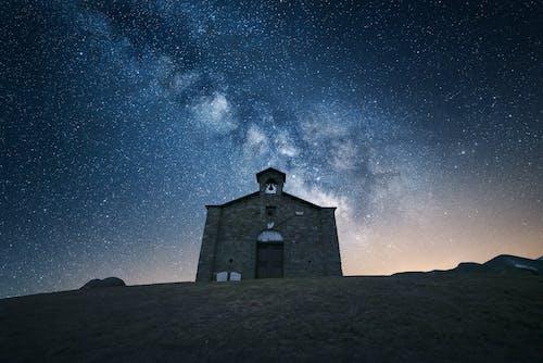 Základová fotografie zdarma na téma architektura, astronomie, bouře