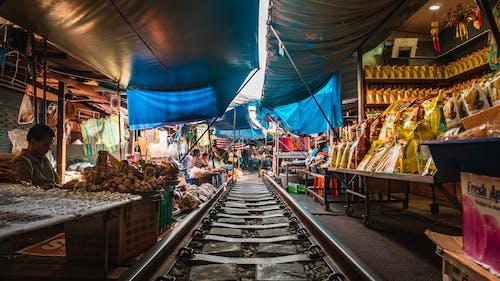 Fotos de stock gratuitas de acción, bazar, calle, carretera