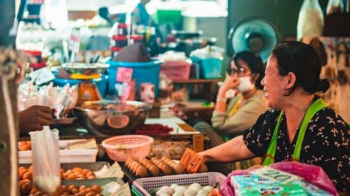 小攤販, 小販, 市場 的 免費圖庫相片