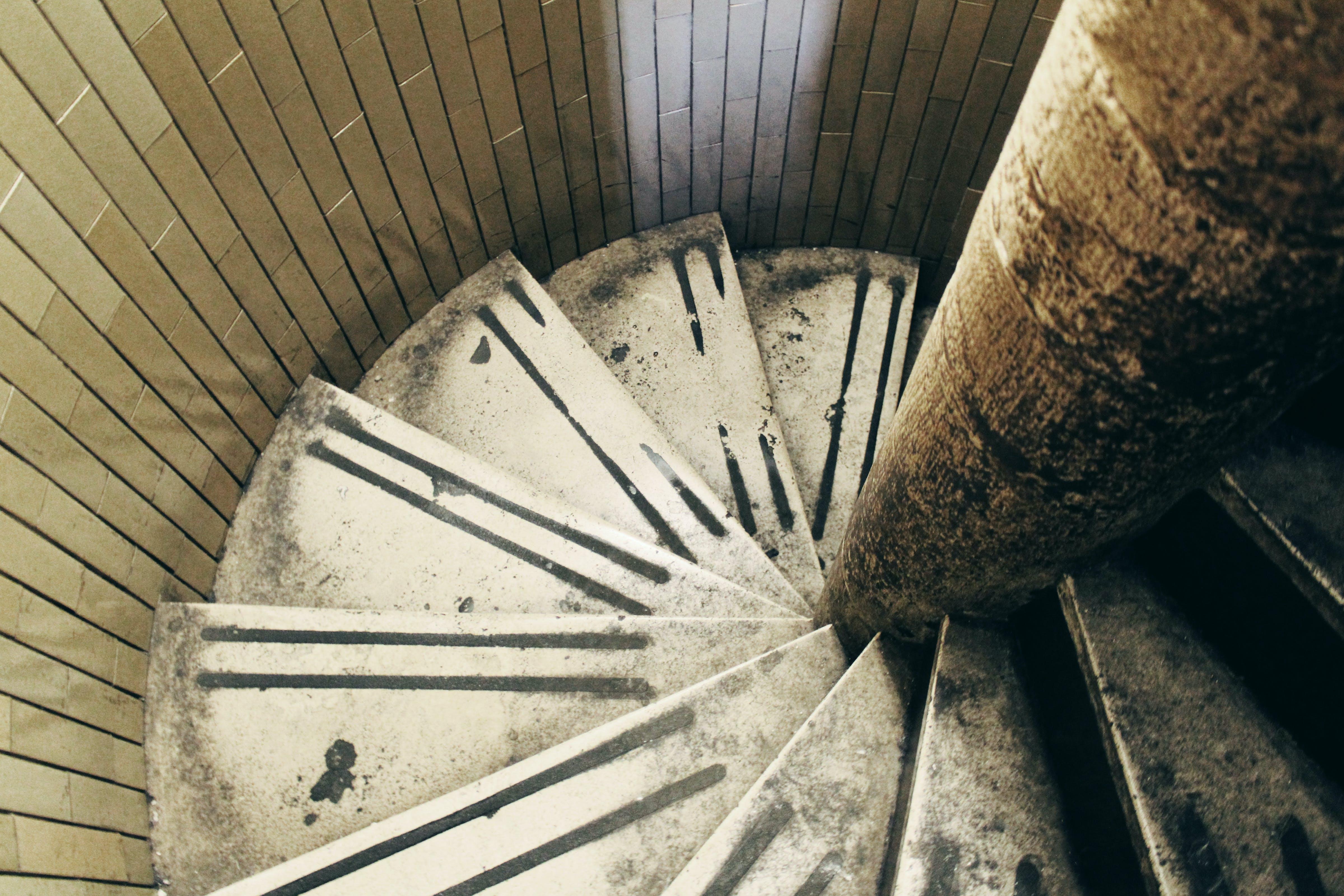 architecture, background, spiral