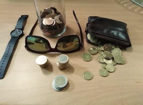 Free stock photo of coin, coin collector, coins, collect