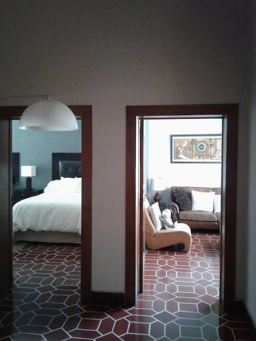 Free stock photo of bedroom, comfort room, dark room, door