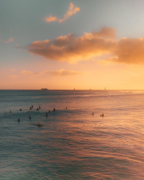Imagine de stoc gratuită din albastru, apus de soare lumina, culoarea apusului