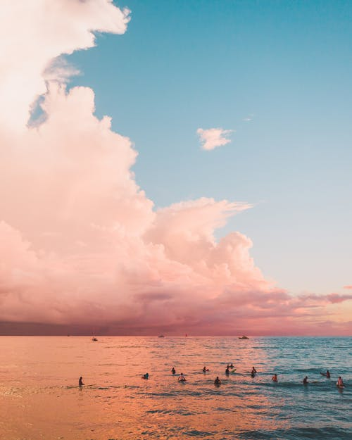 People on Beach