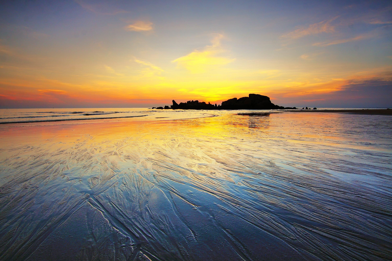 coast, dawn, dusk