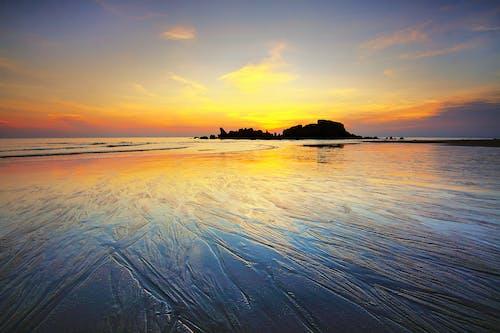 Ilmainen kuvapankkikuva tunnisteilla aamu, auringonlasku, auringonnousu, horisontti
