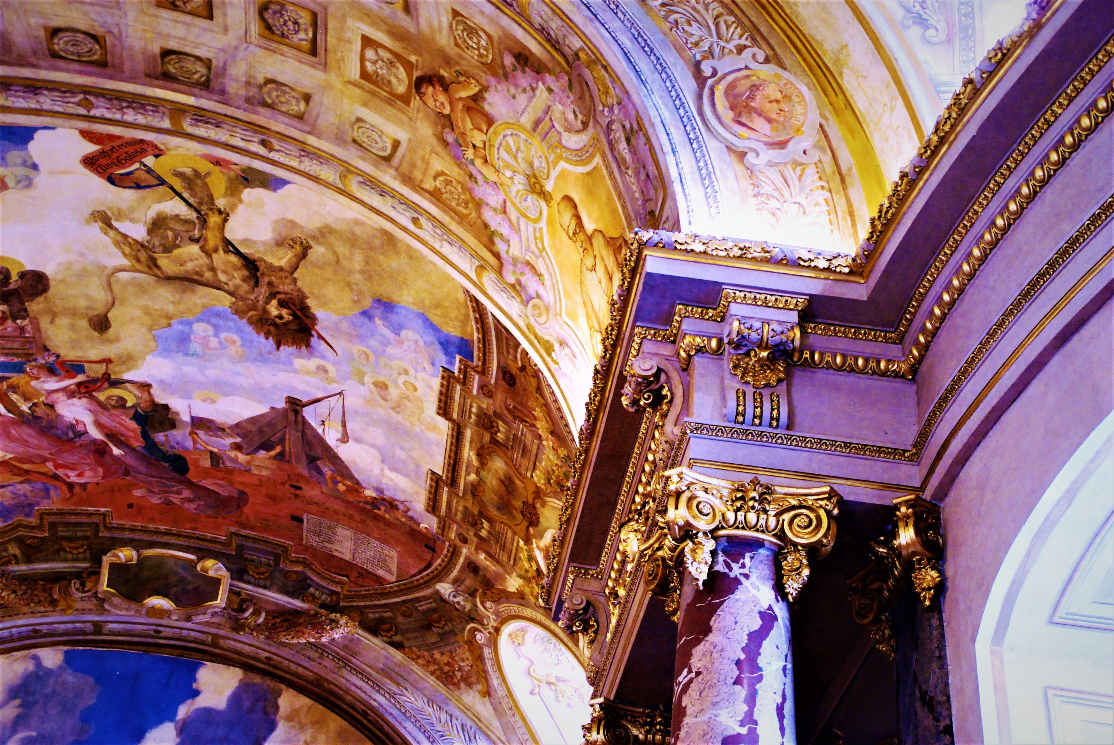 Free stock photo of art, artistic, baroque, Capitol