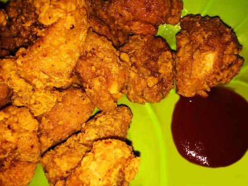 快餐, 油炸, 雞, 雞肉薯條 的 免費圖庫相片