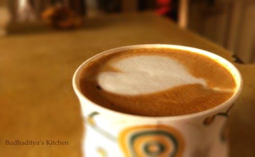 卡布奇諾, 咖啡, 拉花, 拿鐵 的 免費圖庫相片