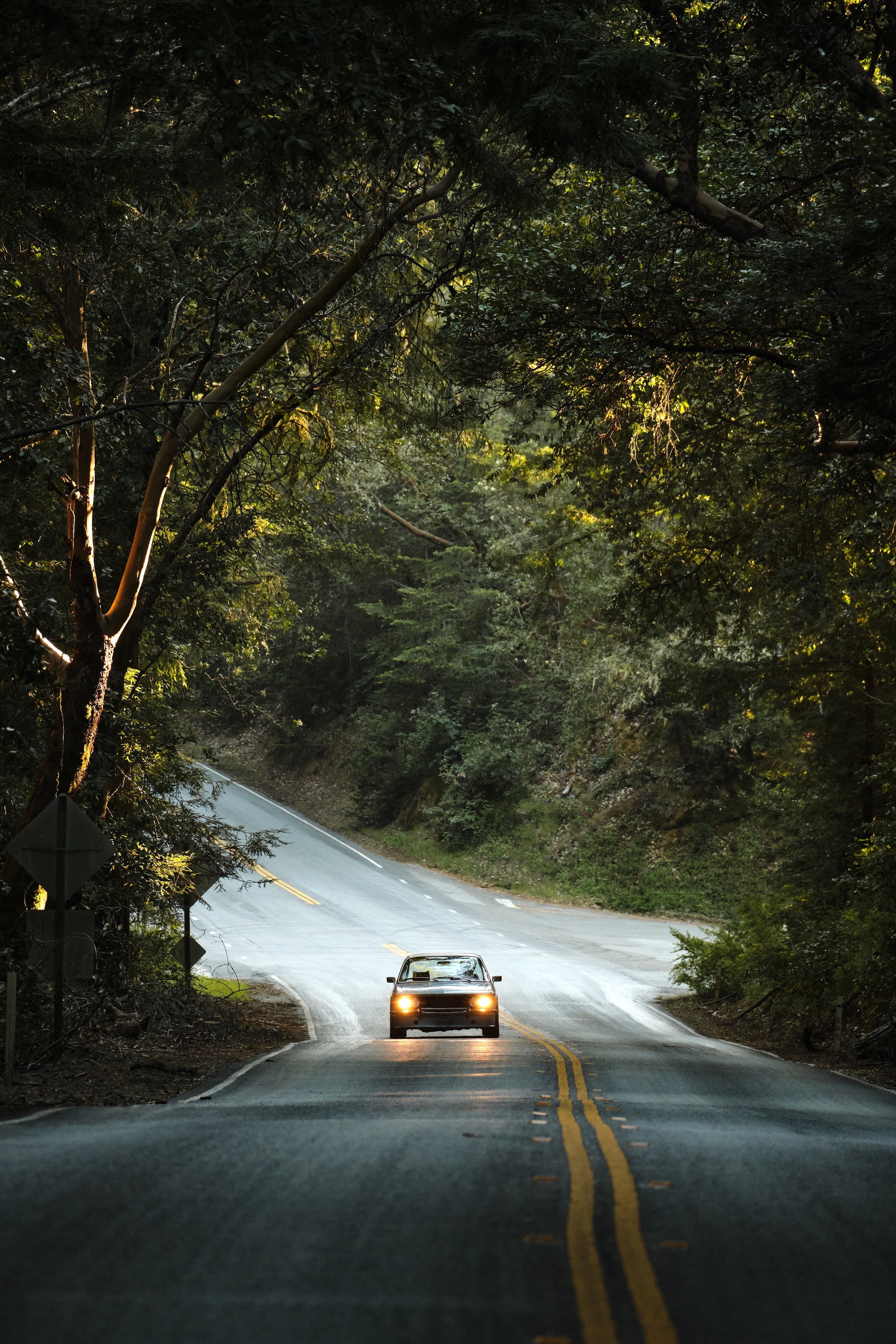 Car driving on a road. | Photo: Pexels