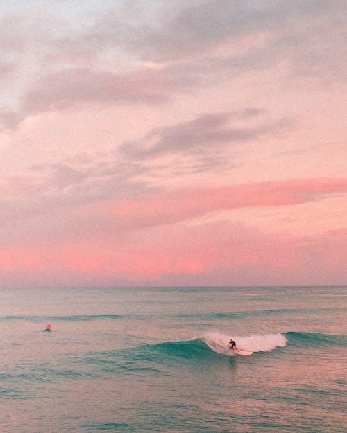 Photos gratuites de beau coucher de soleil, beau paysage, bleu
