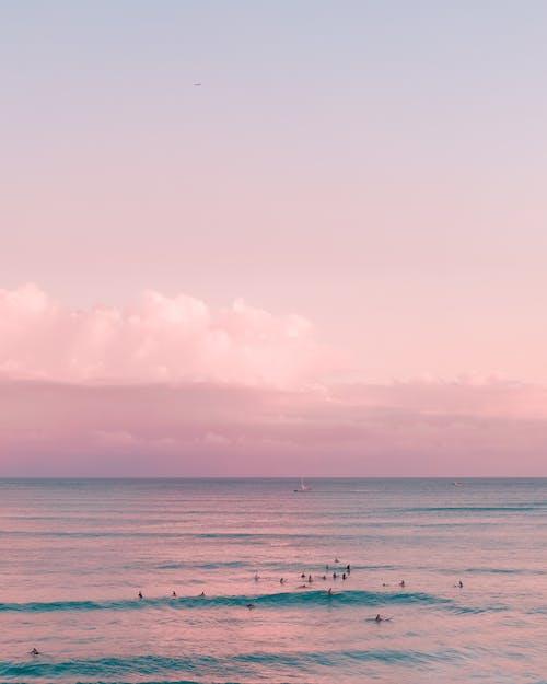 Бесплатное стоковое фото с вода, горизонт, закат