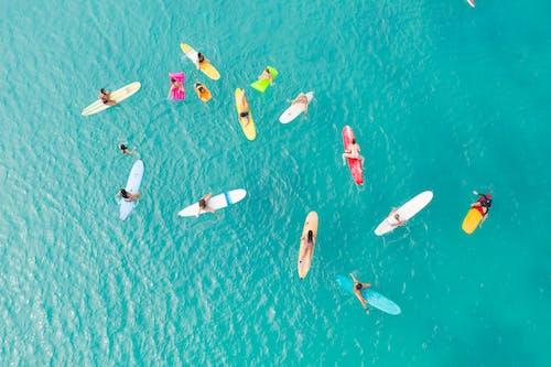 Δωρεάν στοκ φωτογραφιών με surfing'surf, άμμος, αναψυχή, γαλαζοπράσινος