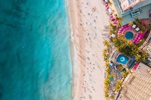 Kostenloses Stock Foto zu blau, drohne kamera, drohnenfotografie, hawaii